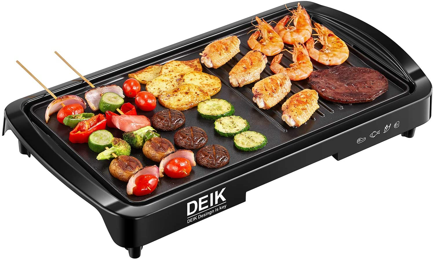 Electric Griddle Cooking