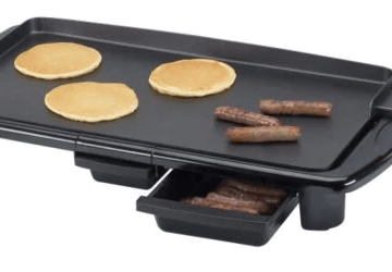Black And Decker Electric Griddle With Warming Tray