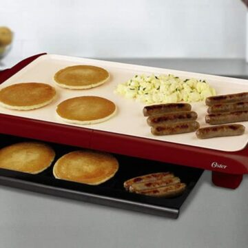 Making Breakfast With An Electric Griddle